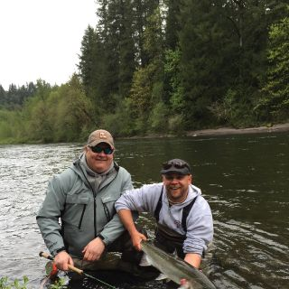 Happy client and a happy guide. Great way to end the day!
