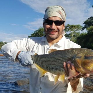 Fly fishing in Ecuador