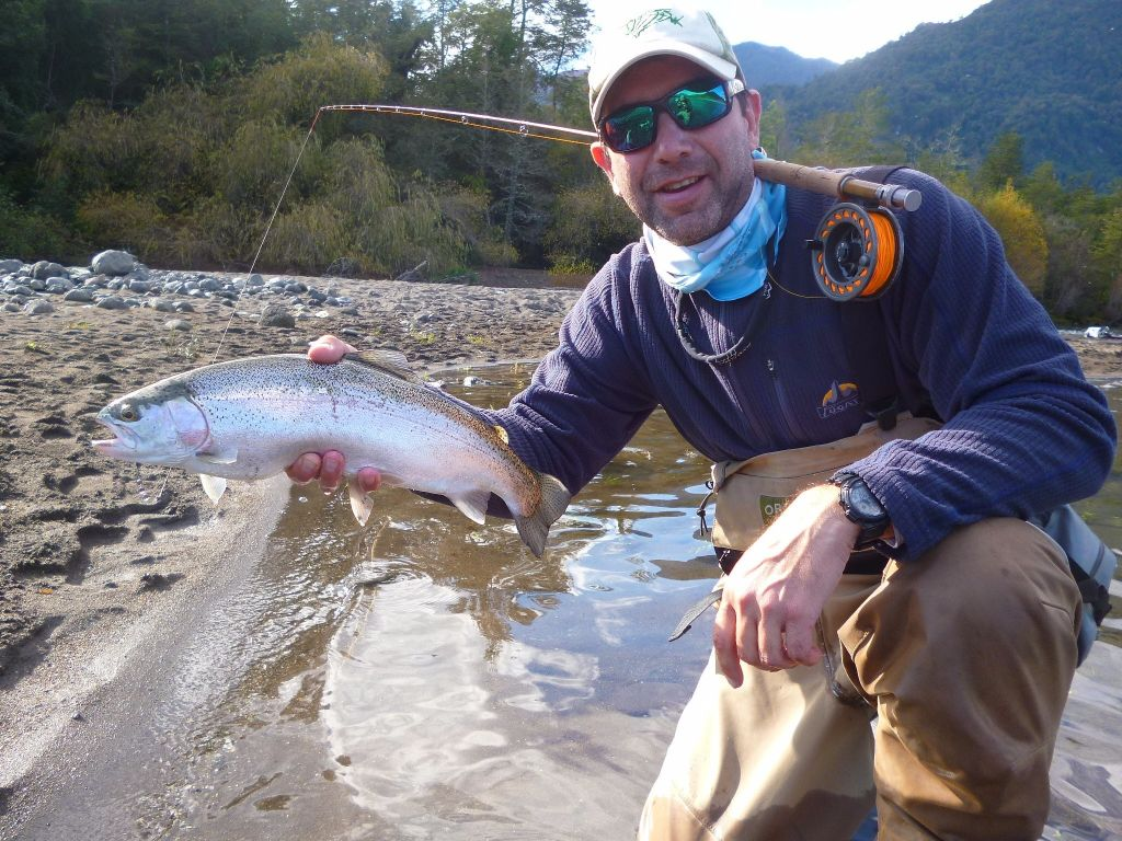 Mauricio morales fly fishing guide casting instructor for Fly fishing casting