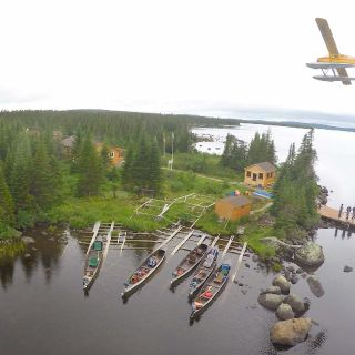 Drone photo of Igloo Lake Lodge & Beaver Floatplane