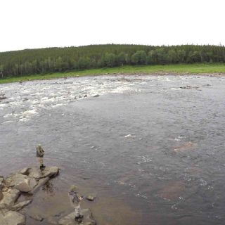 Extremely remote fly fishing for trophy Atlantic Salmon