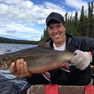 Awesome Brook Trout fishing!