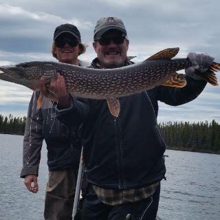 Big Northern Pike at Igloo Lake Lodge!