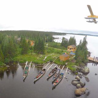 Drone photo of Igloo Lake Lodge & Beaver Floatplane