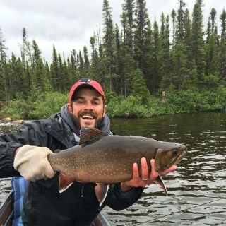Large Igloo Lake Brook Trout