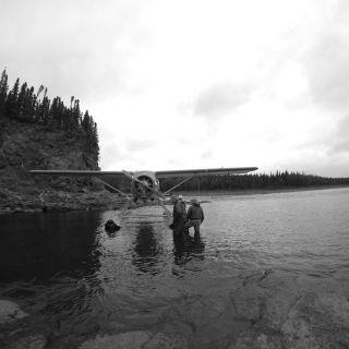 Beaver floatplane at Owl Brook - Atlantic Salmon fishing, only 15 minutes from Igloo Lake Labrador