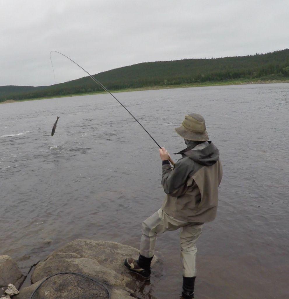 Labrador 39 s igloo lake lodge fly fishing lodge fly for Atlantic salmon fishing