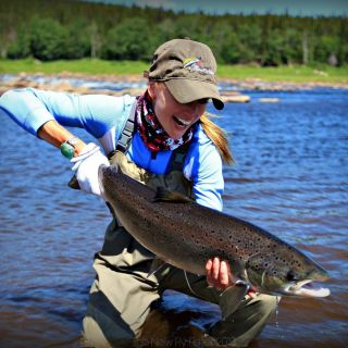 Upper Eagle River - outstanding fly-out (optional) for Atlantic Salmon only 15 minutes from Igloo Lake Labrador