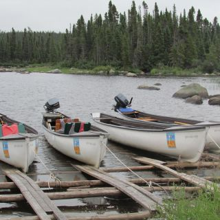Our new boats at Igloo Lake Lodge