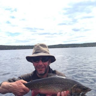 Big Brookie - Igloo Lake Lodge Labrador