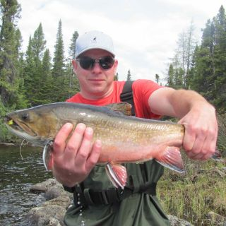 Beautiful Igloo Lake Labrador brook trout