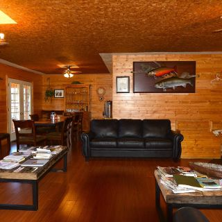 Living Room at Igloo Lake Lodge