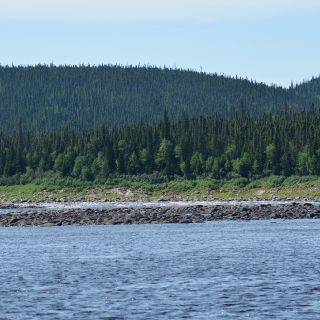 Upper Eagle River (Owl Brook), outstanding Salmon fishing, just 15 minutes from Igloo Lake Lodge.