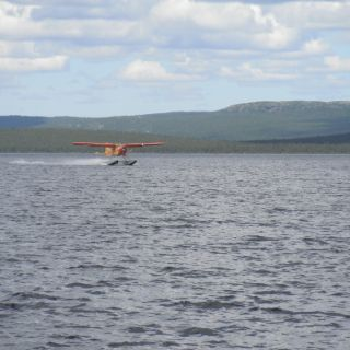 Beaver landing Igloo Lake