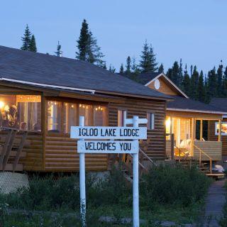 Igloo Lake Lodge, Labrador, Canada