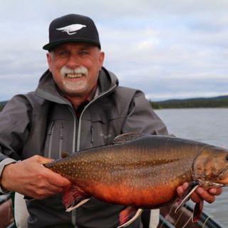 September brook trout at Igloo Lake Labrador
