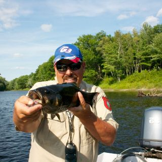Penobscot River Smallmouth Bass on the Fly