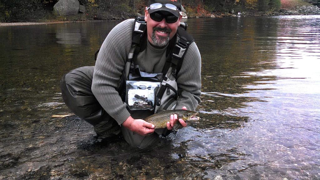 Rich yvon twin maple outdoors maine fly fishing guide for Maine fishing guide