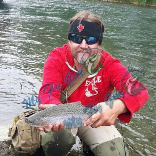 A great day with some Southern Alberta Rainbows on the Crowsnest river!!