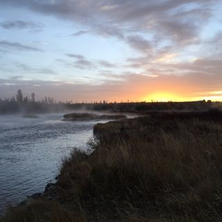 Sunrise - Madison River