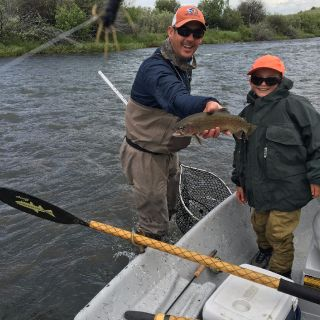 1st time angler getting it done on the Madison River