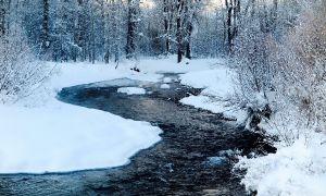 Big Wood River, Ketchum, Idaho, United States