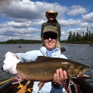 Awesome Igloo Lake Brook trout