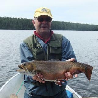 Chunky Brookie at Igloo Lake Lodge