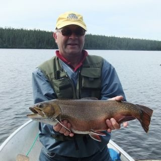 Chunky Brookie at Igloo Lake Lodge