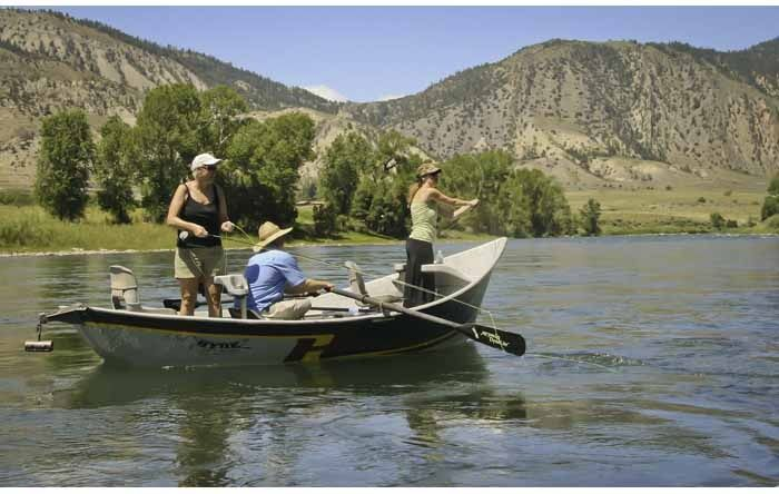 Hubbards yellowstone lodge fly fishing lodge fly for Montana fishing lodges