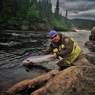 Nothing like remote Atlantic Salmon fishing