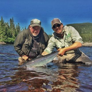 Beautiful Eagle River Fish Labrador
