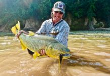 Chris Eckley 's Fly-fishing Catchof a Tiger of the River| Fly dreamers