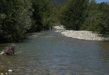 Tail Water Tevere, Arezzo, Perugia, Firenze, Siena, Roma, Tuscany, Italy