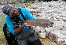 Uros Kristan 's Fly-fishing Catchof a Rainbow trout| Fly dreamers