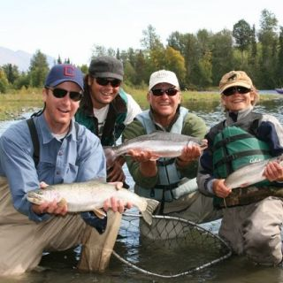 A Kenai River fly fishing trifecta with Kenai Experience.