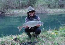 Rainbow trout Fly-fishing Situation – Simon Urbas shared this Photo in Fly dreamers