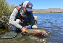 Michael Stack 's Fly-fishing Photoof a Rainbow trout| Fly dreamers