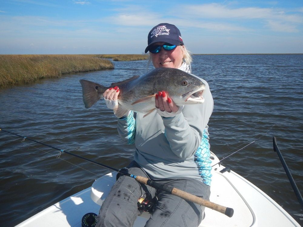 Blue mud charters fly fishing guide fly dreamers directory for Fly fishing charters