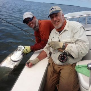 Tarpon on fly.