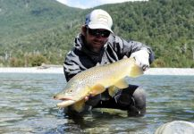Christof Menz 's Fly-fishing Picof a English trout| Fly dreamers
