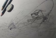 Fly-fishing Art Pic shared by Kid Ocelos | Fly dreamers