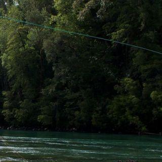 Guiado para la pesca del Chinook con equipo de spey