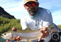 Fly-fishing Photoof Rainbow trout shared by Kid Ocelos | Fly dreamers