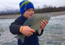 Branden Hummel 's Fly-fishing Catchof a Thymallus thymallus| Fly dreamers