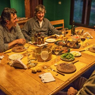 Cena entre amigos, momento de anécdotas