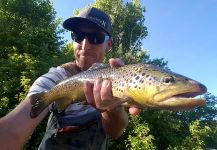 Chris Watson 's Fly-fishing Catch of a brown trout | Fly dreamers