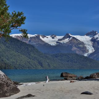 THE BEAUTY OF THE AREA IS AMAZING ON 28 MILE LONG LAKE YELCHO WHICH HAS 7 RIVERS FLOWING IN TO IT