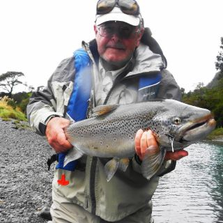 BREAKFAST 7-8, THEN FISH TILL 1PM, BIG LUNCH, FOLLOWED BY SIESTA,THEN FISH FROM 5-6PM TILL DARK - SO WE FISH THE PRIME FEEDING TIME OF THE TROUT