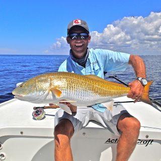 #30 lb Boca Grande Red on the fly. Bocagrandeflyfishingcharters.com